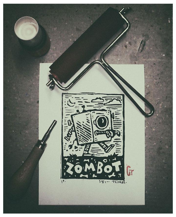 Zombot / series / 01